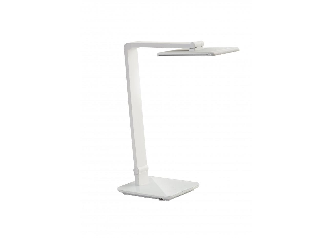 lampe de bureau blanche del smart touch. Black Bedroom Furniture Sets. Home Design Ideas