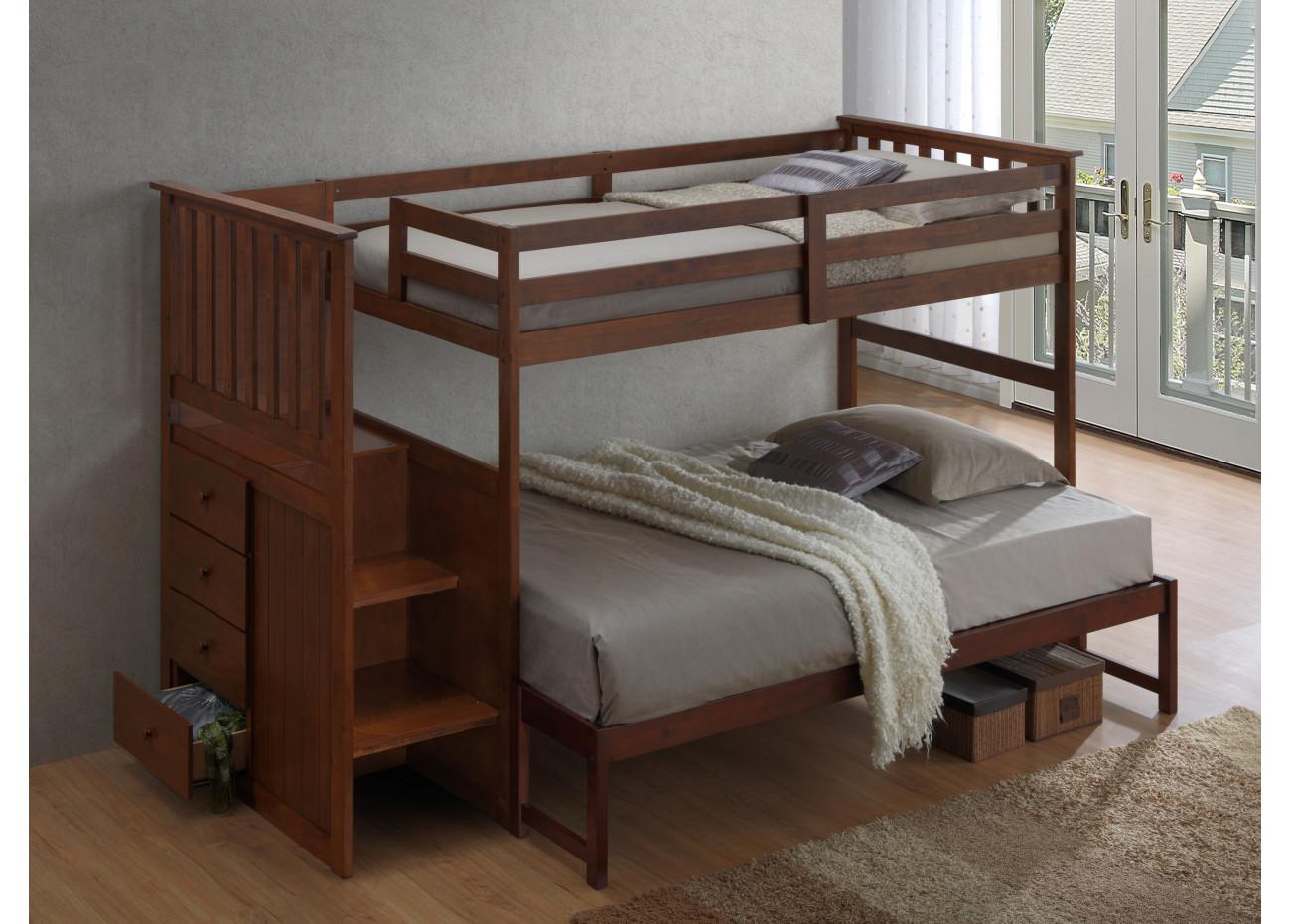 lit superpos simple double. Black Bedroom Furniture Sets. Home Design Ideas