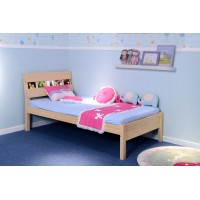Portrait Twin Bed - Natural