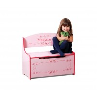 Personalized Toy Box - Pink